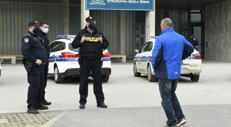 Pritvoren osumnjičeni za lažnu prijetnju bombom u sisačkoj Strukovnoj školi