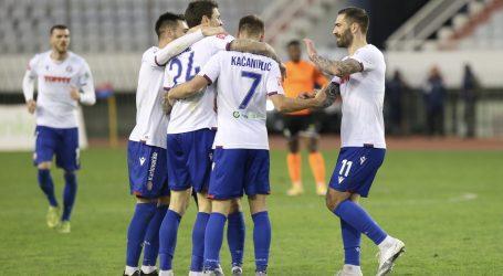 Pajač 'ukrao show', Hajduk svladao Varaždin u 'mučnoj' utakmici na Poljudu