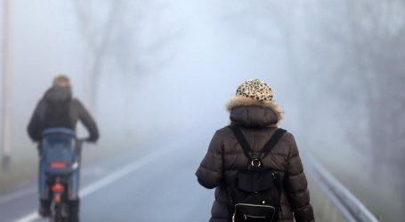 Zrak u Zagrebu i dalje jako zagađen. Savjetuje se smanjenje aktivnosti na otvorenom