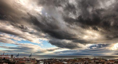 DHMZ: Promjenljivo i pretežno oblačno, mjestimice uz kišu