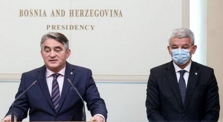 """Džaferović poručio Dodiku: """"Ne igraj se vatrom"""""""