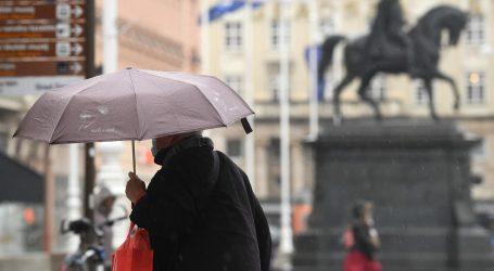 DHMZ: Sredinom dana naoblačenje s kišom, u gorju moguć snijeg