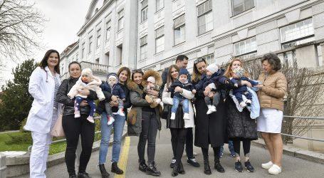 Pred Petrovu došle majke s bebama koje su nakon potresa morale napustiti rodilište