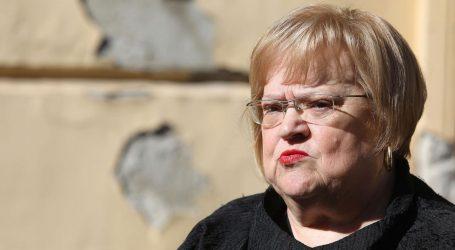 Anka Mrak Taritaš najavila kandidaturu za gradonačelnicu Zagreba