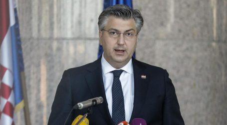 """Plenković o Filipoviću: """"Iz zadnjih napada vidi se da smeta protukandidatima"""""""