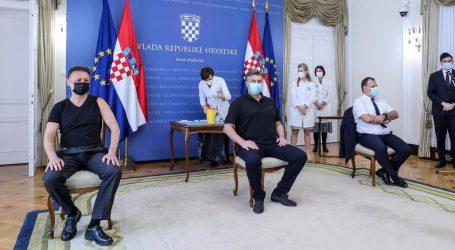 """Plenković, Beroš i Jandroković cijepili se AstraZenecom: """"Ovo je signal povjerenja u cjepivo"""""""