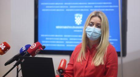 """Pavić Šimetin: """"Što se tiče školske djece, najgore je u Primorsko-goranskoj županiji, pozitivno je njih 209"""""""
