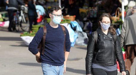 Maske na otvorenom koštale mjesta šeficu zagrebačkog Stožera, mjera opozvana