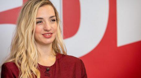 Sanja Radolović kandidatkinja SDP-a za gradonačelnicu Pule