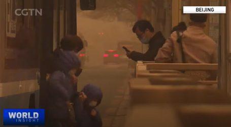 Azija: Snimke velike pješčane oluje zapanjile svijet