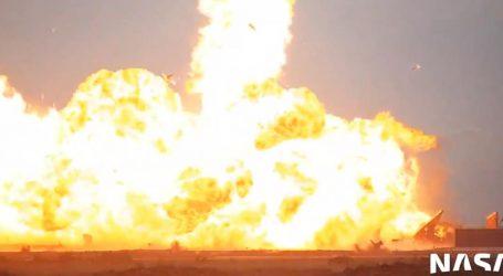 Raketa tvrtke SpaceX uspješno odradila testni let, no nakon slijetanja došlo je do eksplozije