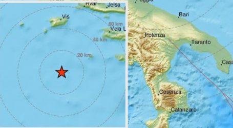 Nova dva potresa u Jadranu
