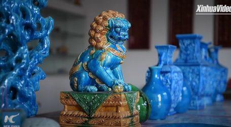 Obojena keramika još se uvijek može vidjeti na kineskim palačama i hramovima