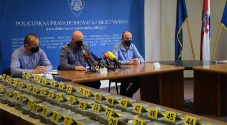 Razbijen još jedan lanac preprodaje kokaina: Pali krijumčari i dileri u Dubrovačko-neretvanskoj županiji