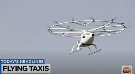 Leteći taxiji na probnim letovima u Europi