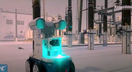 Za pregled trafostanica Kinezi koriste moderne robote
