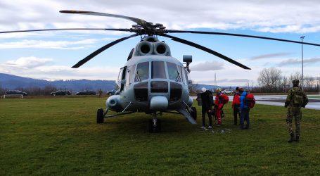 Tijekom uskrsnih blagdana zračne snage HRZ-a prevezle 11 pacijenata