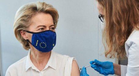 Predsjednica Europske komisije Ursula von der Leyen cijepila se Pfizerom