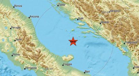 Novi potres u Jadranu, seizmologinja kaže da je seizmička aktivnost i dalje pojačana