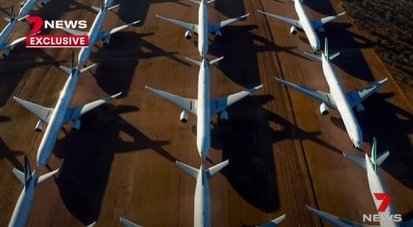 Zrakoplovi prizemljeni na velikom australijskom parkiralištu vrijede devet milijardi dolara