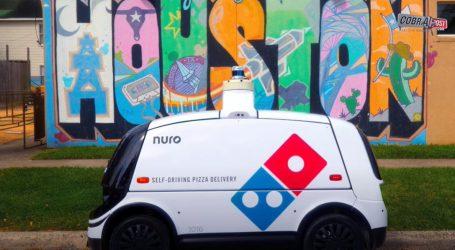 Poznati lanac pizzeria u Houstonu će hranu dostavljati autonomnim robotima