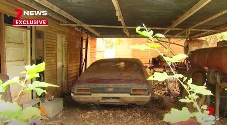 Rijetki Ford Falcon XA GT desetljećima stajao zaboravljen na australskoj farmi