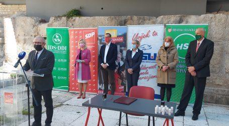 SDP-ov kandidat za gradonačelnika Rijeke Marko Filipović predstavio koaliciju za lokalne izbore