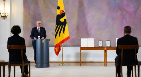 Njemački predsjednik Steinmeier cijepio se AstraZenecom