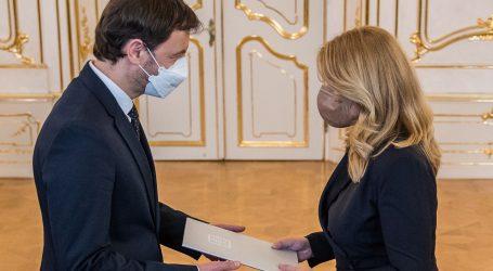 Slovačka predsjednica imenovala Eduarda Hegera premijerom