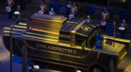 'Zlatna povorka faraona': Mumificirani ostaci 22 egipatskih kraljeva i kraljica premješteni na novo počivalište
