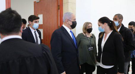 Nastavljeno suđenje za korupciju Benjaminu Netanyahu