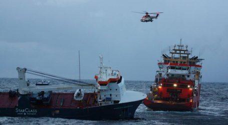 Spašen nizozemski teretni brod koji je plutao kod Norveške