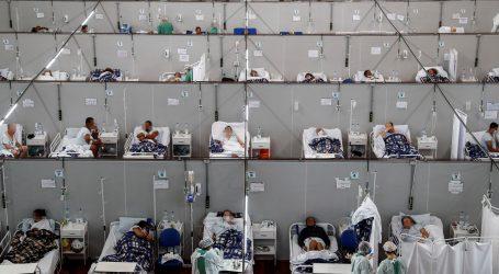 Brazil: Gotovo 400 tisuća umrlih od covida-19