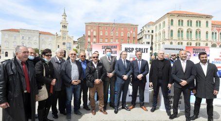 Ujedinjena desnica predstavila kandidata za splitskog gradonačelnika