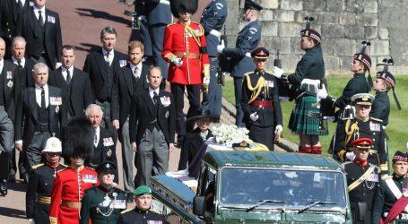 Više od 13 milijuna Britanaca gledalo prijenos pogreba princa Philipa