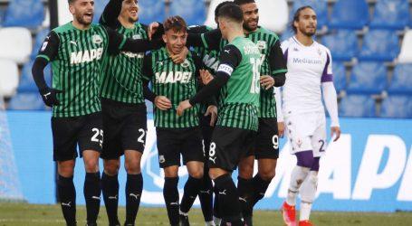 Italija: Unatoč vodstvu, Fiorentina izgubila od Sassuola (1-3)