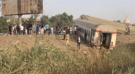 Jedanaest mrtvih i 98 ozlijeđenih u željezničkoj nesreći u Egiptu