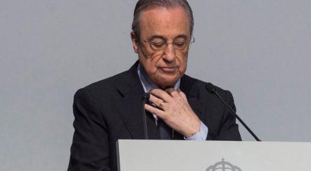 """Florentino Perez: """"Nogometaši iz Superlige mogu biti mirni, ponudili smo format koji bi spasio nogomet"""""""