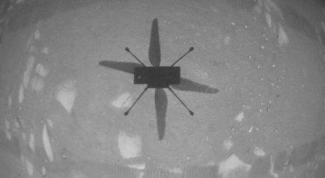 Trenutak za povijest: Helikopter letio iznad površine Marsa, pogledajte snimku