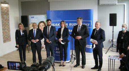 """HDZ-ova kandidatkinja za Sisak: """"Dosta je stranačkog vođenja grada"""""""