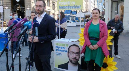 """Tomašević: """"Bitno je imati i većinuu Gradskoj skupštini kako bi mogli ostvariti sve promjene koje smo obećali"""""""