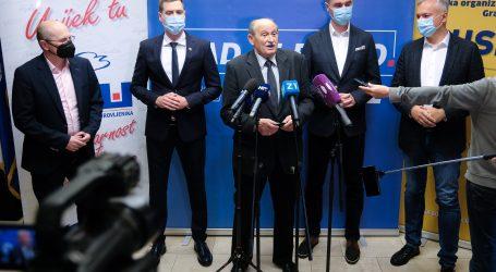 Zagreb: Potpisan koalicijski sporazum između HDZ-a, HSLS-a i HSU-a
