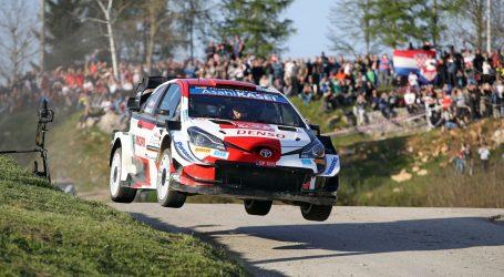 Croatia Rally: Francuz Ogier (Toyota) prešao u vodstvo
