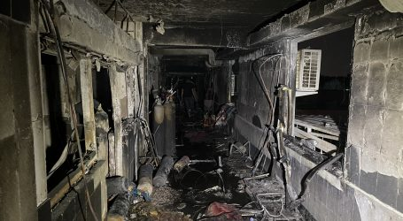 Ministarstvo: U požaru u bagdadskoj bolnici umrlo najmanje 82 ljudi