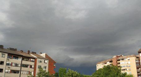 Oblačno u cijeloj zemlji, mjestimice mogući kiša i pljuskovi