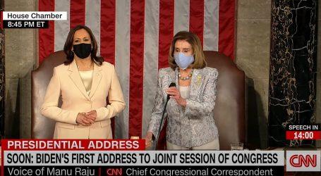 Na prvom obraćanju Joea Bidena Kongresu, Kamala Harris i Nancy Pelosi u haljinama imigrantskih dizajnera