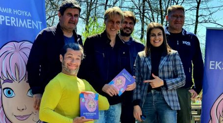 Damir Hoyka u zagrebačkom ZOO-u predstavio svoj prvi roman za djecu