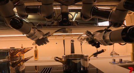 Spretni kuhinjski robot Moley može pripremiti osam jela, a i čisti za sobom