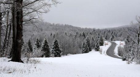 Stiže promjena vremena i nalet zime, DHMZ izdao posebno priopćenje