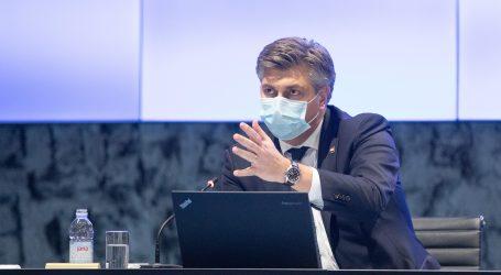 """Sjednica Vlade: """"Zdravstveni sustav je opterećen, jedini put da se ovo smiri je cijepljenje i pridržavanje mjera"""""""